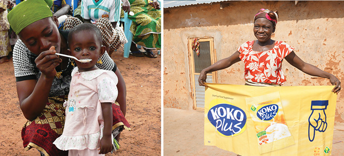 Spotlight on the Ghana Nutrition Improvement Project – KOKO Plus
